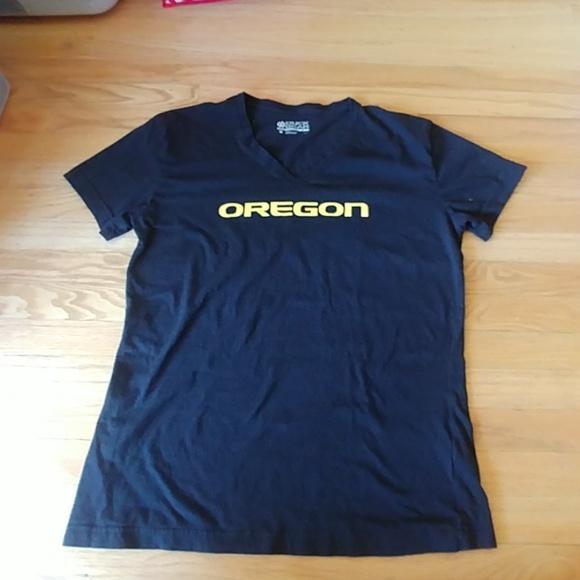 designer fashion 32d95 c3aae Women's Oregon Ducks Short Sleeve Black Tee